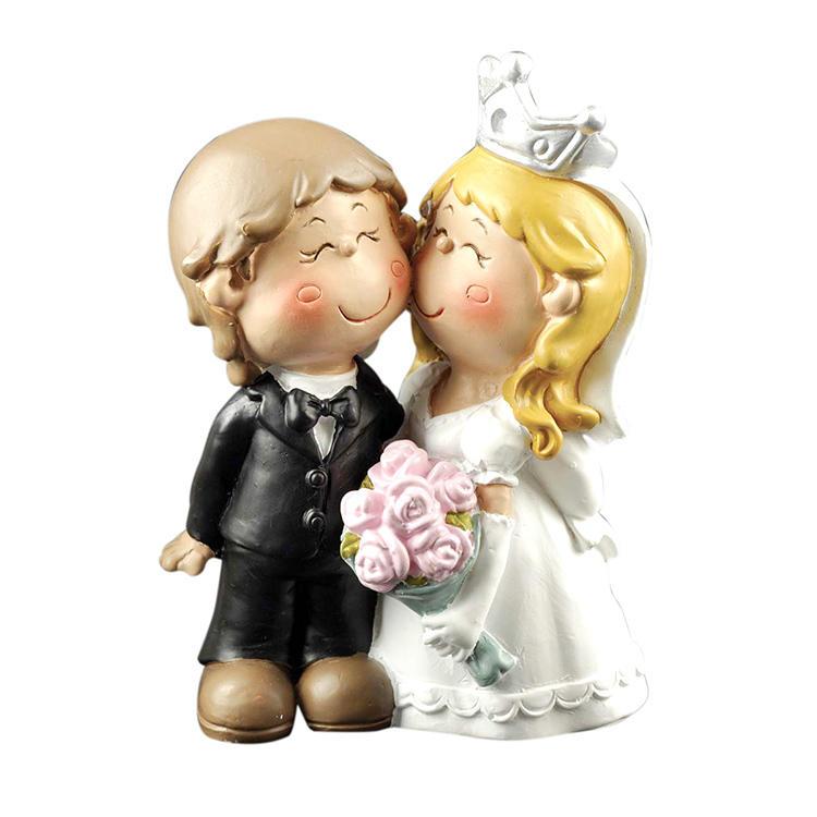 Groom and Bride Figurine Wedding Cake Topper Birthday Party Cake Decoration