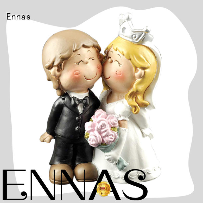 miniature wedding cake topper figurines high-quality birthday decor Ennas