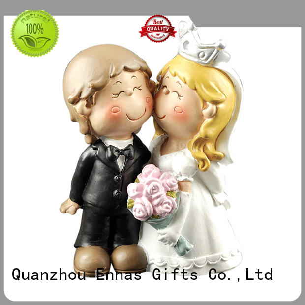 Groom and Bride Figurine Wedding Cake Topper Birthday Party Cake Decoration