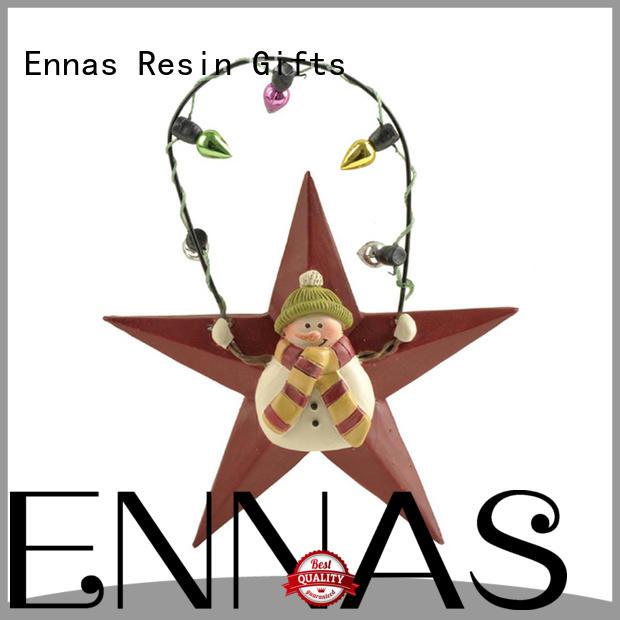 christmas collectible figurines resin Ennas