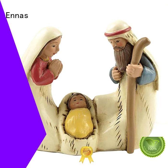Ennas wholesale church figurine bulk production family decor