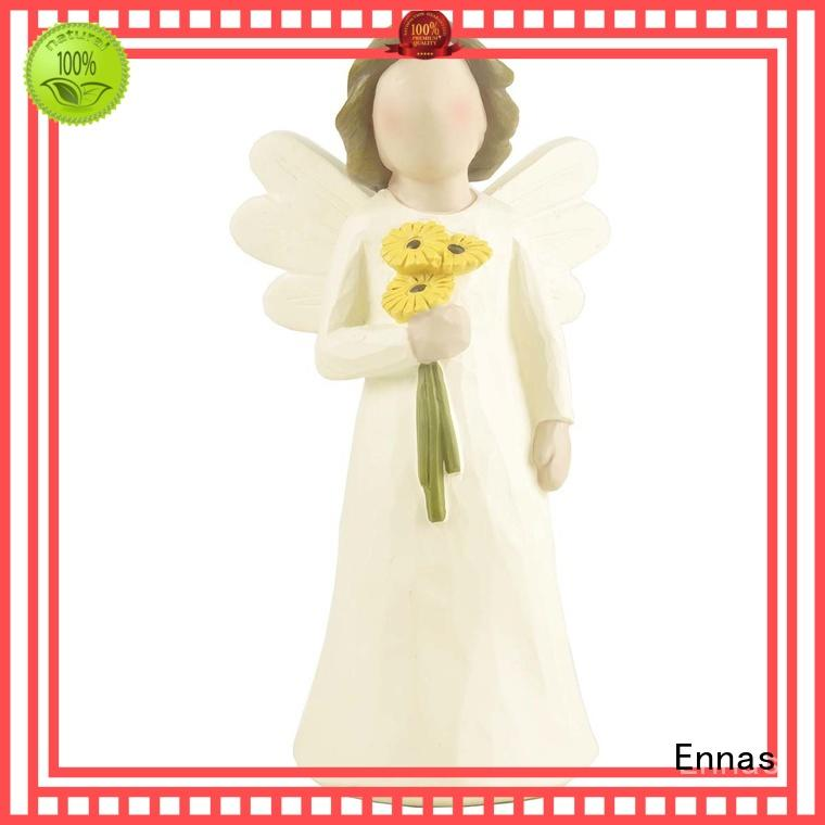Ennas artificial personalized angel figurine creationary fashion