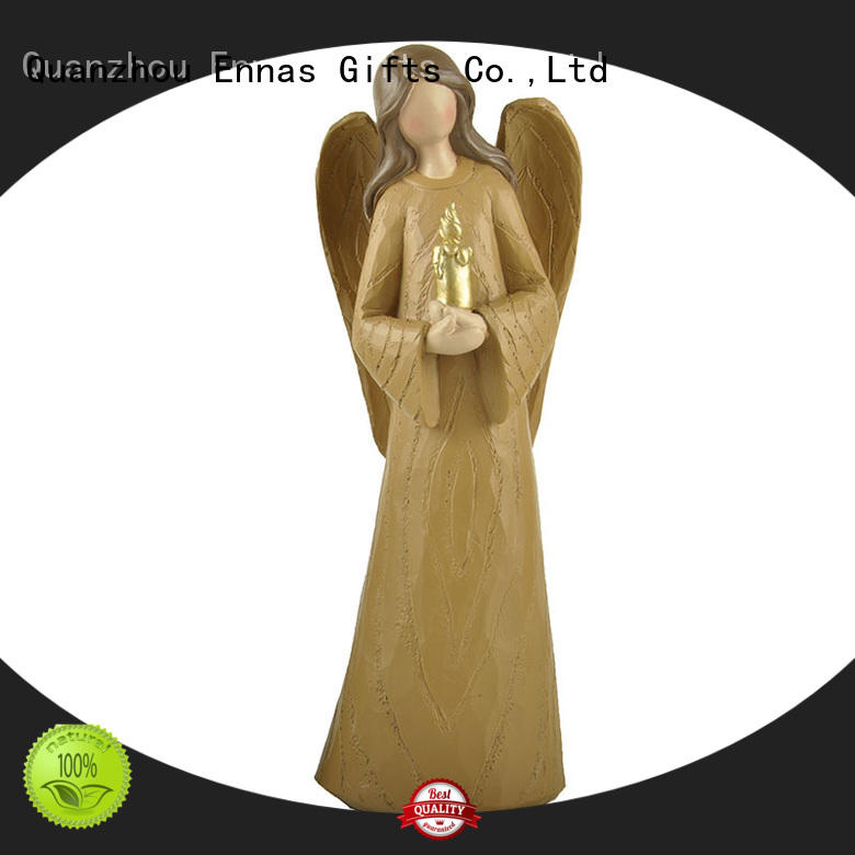 Ennas guardian angel statues figurines lovely for ornaments