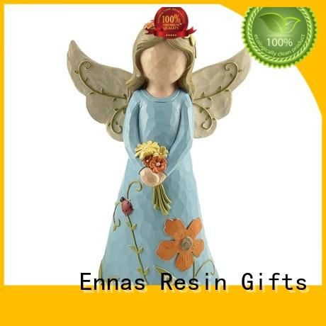 artificial small angel figurines top-selling for decoration