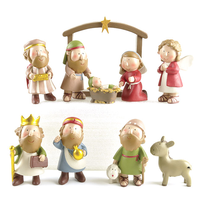 Ennas eco-friendly religious sculptures bulk production craft decoration-2