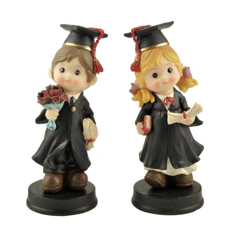 Ennas handmade crafts graduation statue light-weight