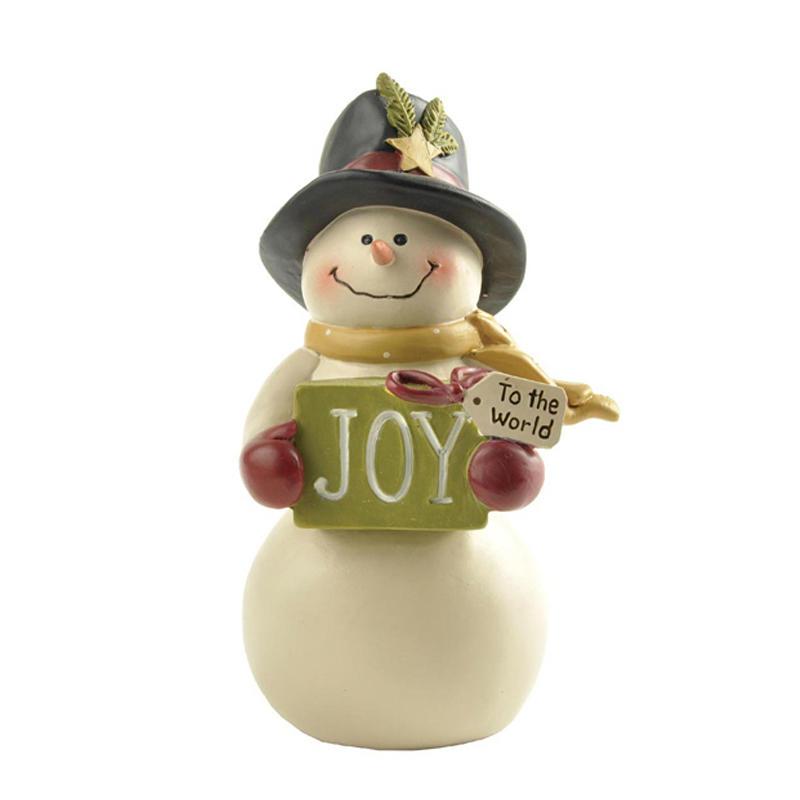 Ennas mini christmas figurines polyresin for wholesale