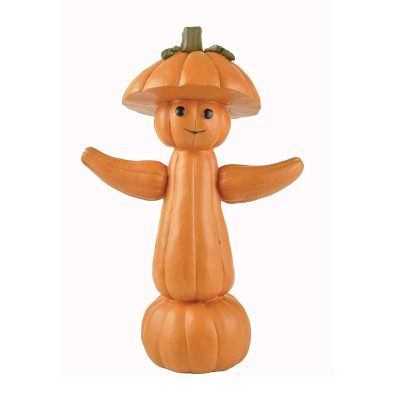Hot Sale Halloween Creative Pumpkin Man Statue Halloween Decorations Resin Crafts