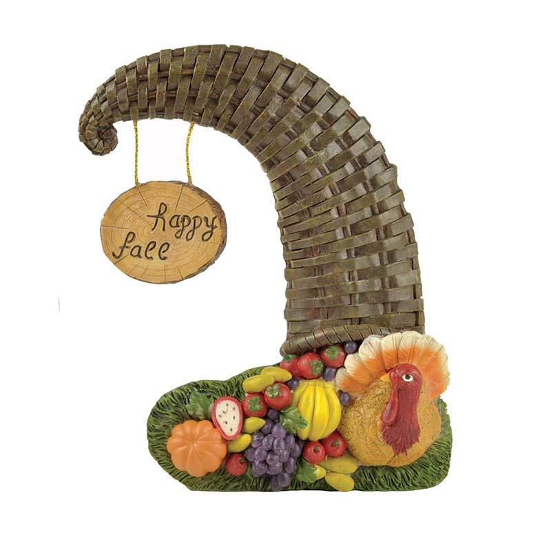 Factory Custom Made Home Decoration Resin Autumn Harvest Statue