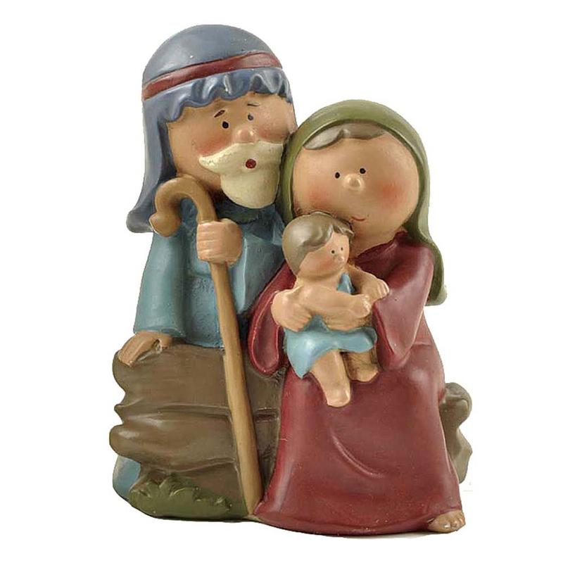 Ennas holding candle nativity set hot-sale craft decoration