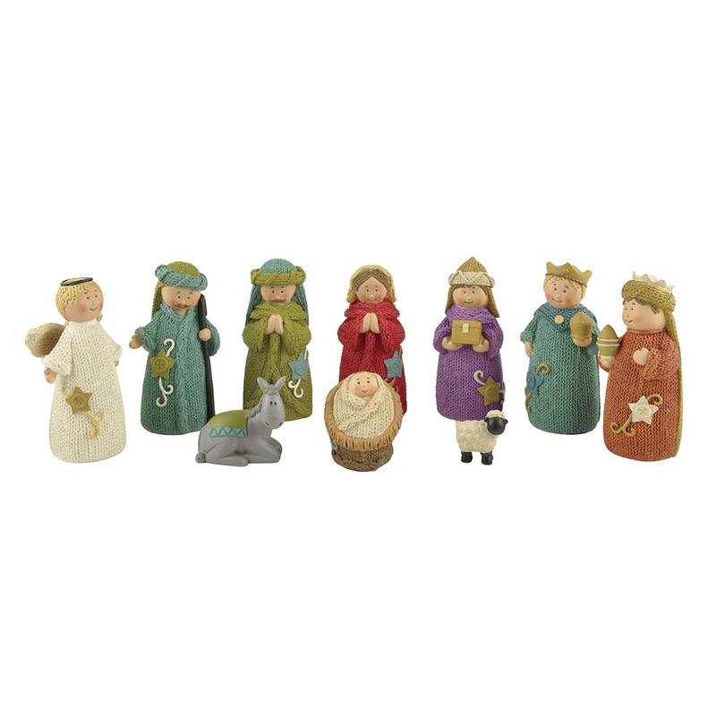 Ennas eco-friendly christian figurines promotional craft decoration