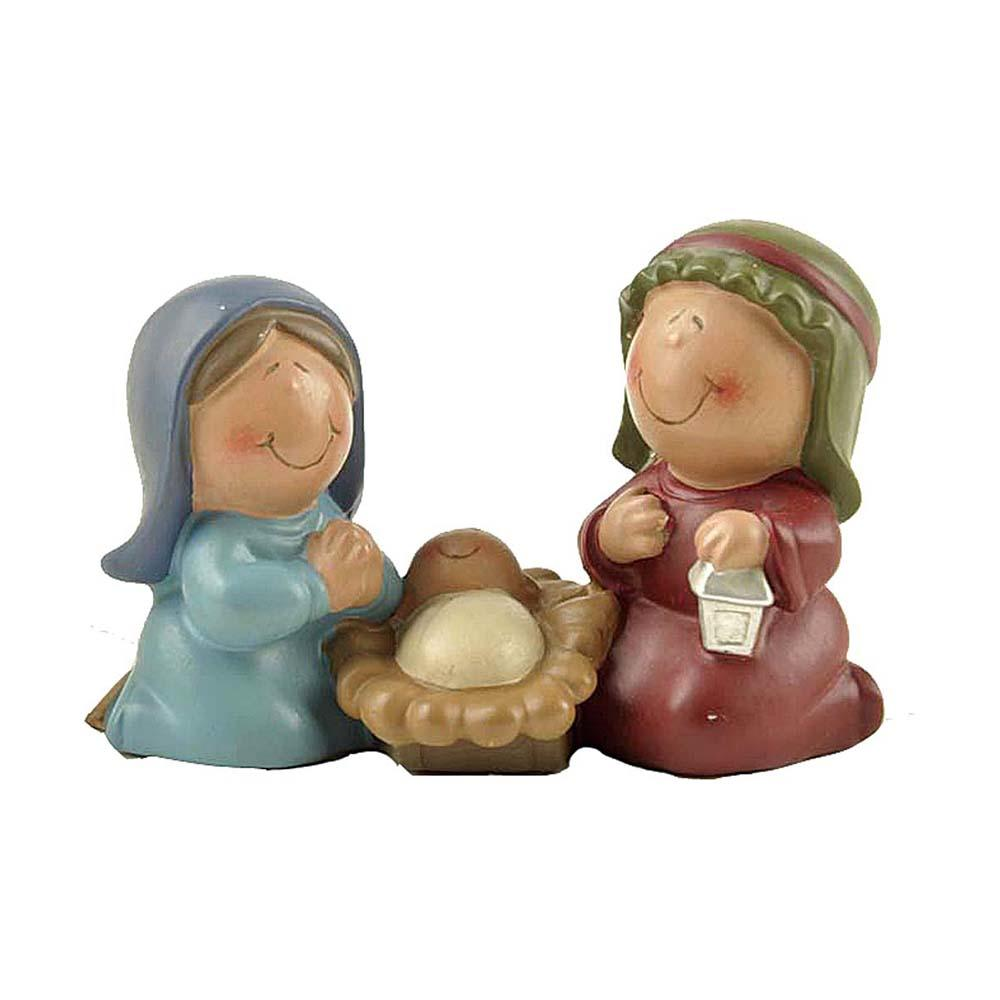 Custom Resin Baby Jesus Nativity Set Statue for Christmas Decoration