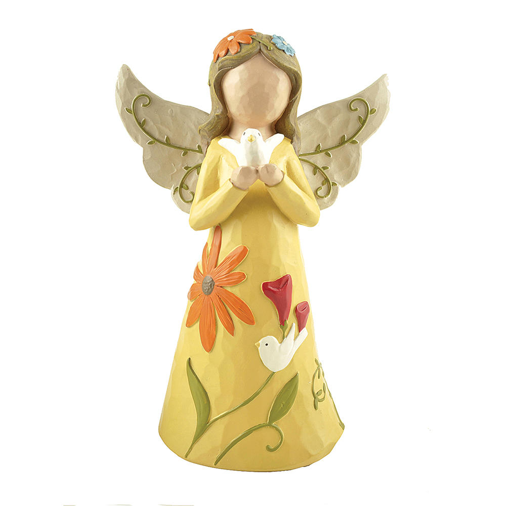 Small Angels Flower Fairy Figures, Resin Figurine Fashion Polyresin Angel Gifts