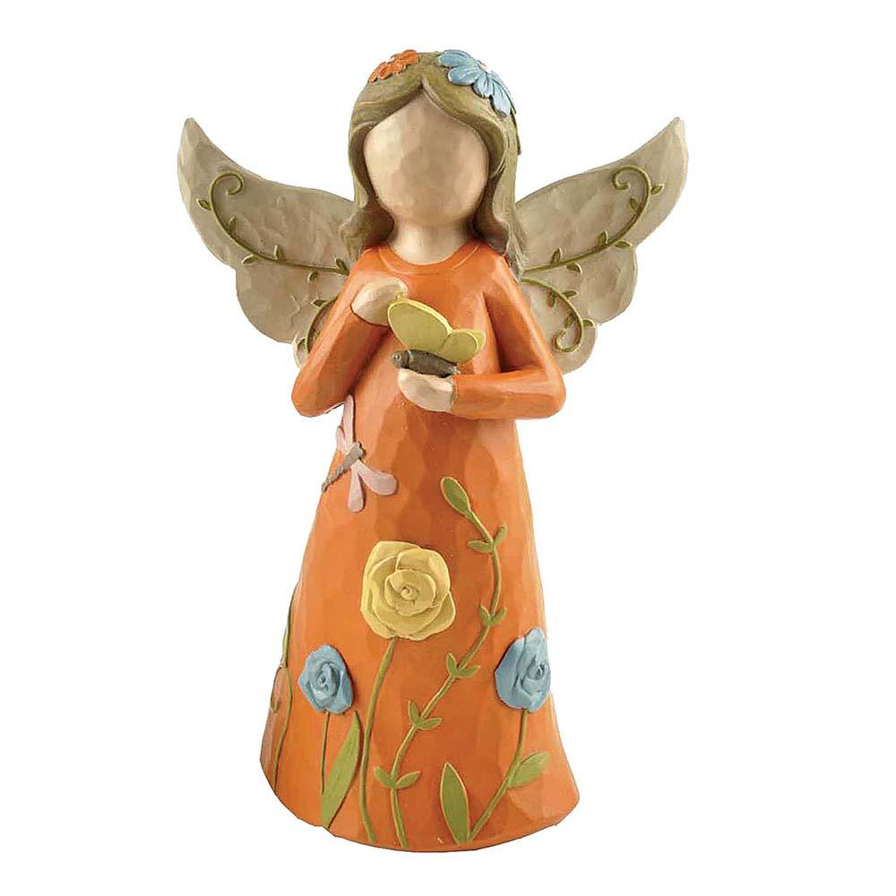 Hot Selling Resin Fairy Figures Angel Girl Stature Figurine Garden Decoration