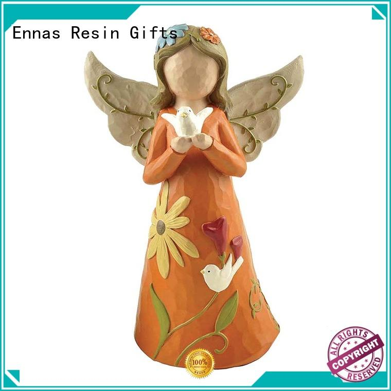 decorative personalized angel figurine high-quality for ornaments Ennas