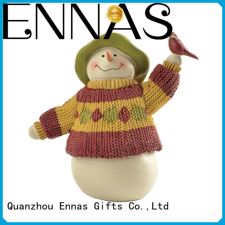 Ennas xmas decorations collectible christmas ornaments polyresin bulk production