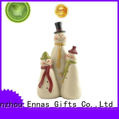 Christmas Decoration Snowman Family Figurines