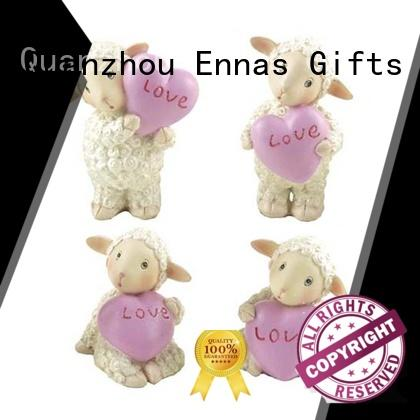 Ennas living room accessories wedding cake topper figurines hot-sale