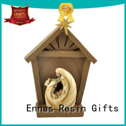 Ennas holding candle catholic religious items hot-sale family decor