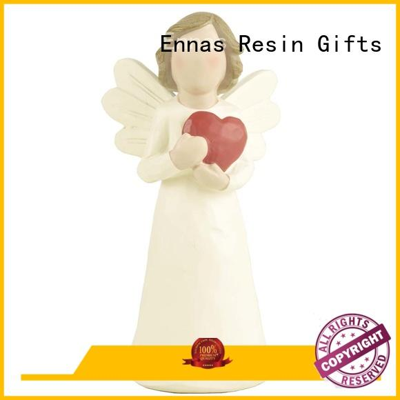 Ennas religious angel figurines collectible unique for ornaments