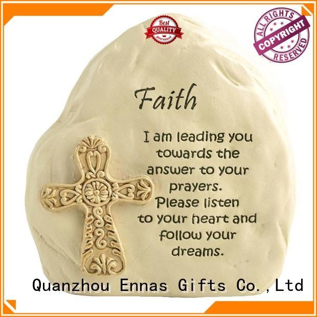 Ennas holding candle catholic gifts hot-sale craft decoration