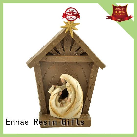 wholesale vintage religious figurines promotional craft decoration Ennas