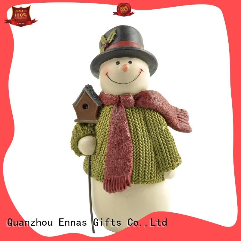 Ennas snowman angel christmas ornaments