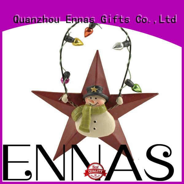 mini christmas figurines resin bulk production Ennas