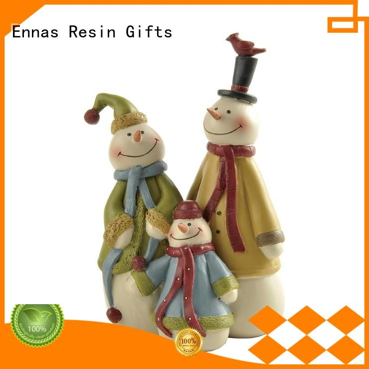 Ennas hanging christmas village figurines family bulk production
