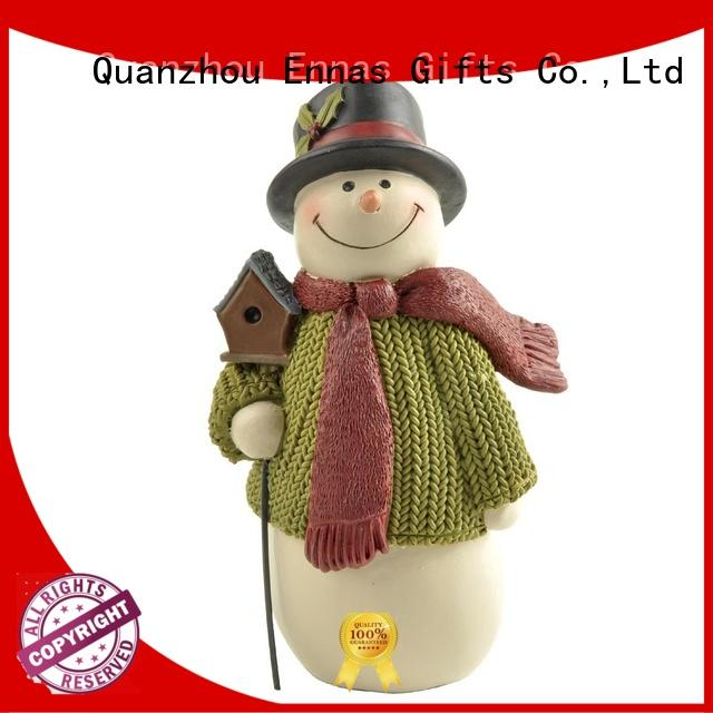 Ennas snowman christmas collectibles family for ornaments