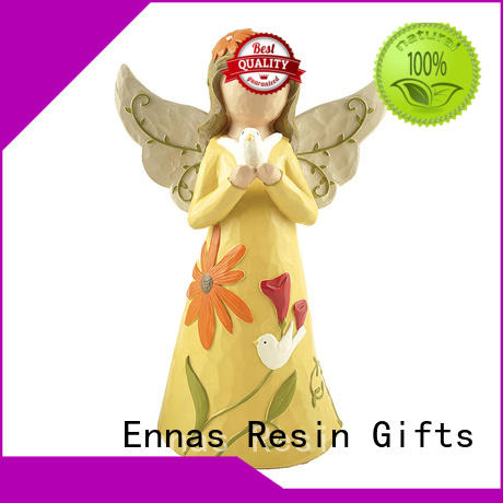 hand-crafted mini angel figurines decorative for decoration Ennas