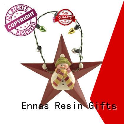 resin christmas village figurines popular for ornaments Ennas