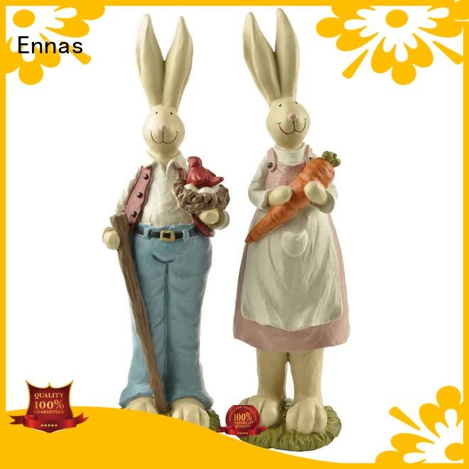 Ennas free sample easter bunny figurines handmade crafts for holiday gift