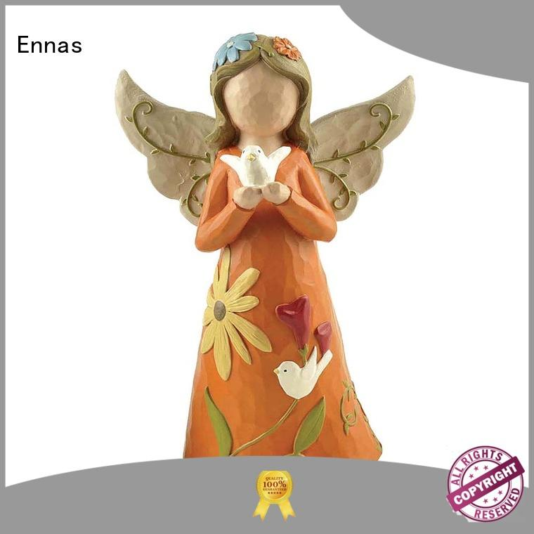 Ennas family decor angel figurine collection vintage for decoration
