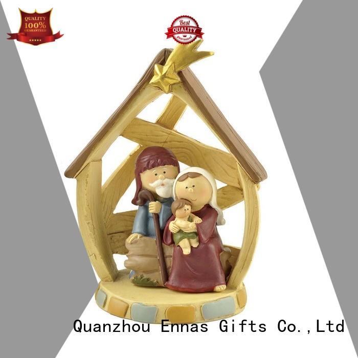 Ennas holding candle catholic statues popular