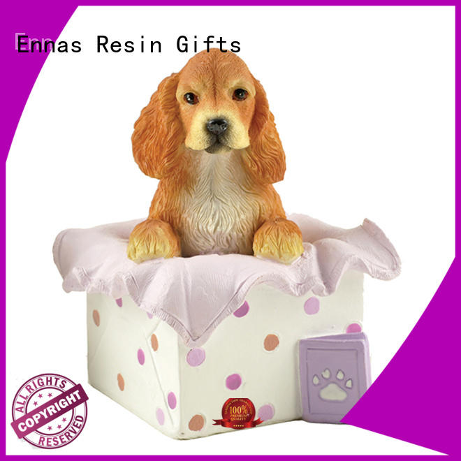 Ennas sculpture model dog figurines free delivery