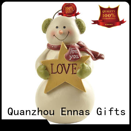 Ennas christmas figurine ornaments family for wholesale
