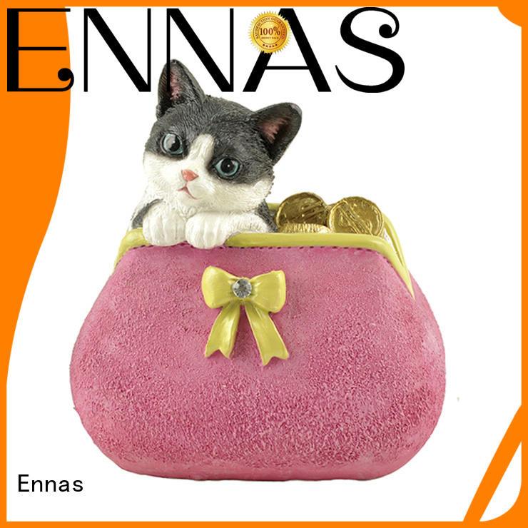Ennas handmade animal figurine high-quality resin craft