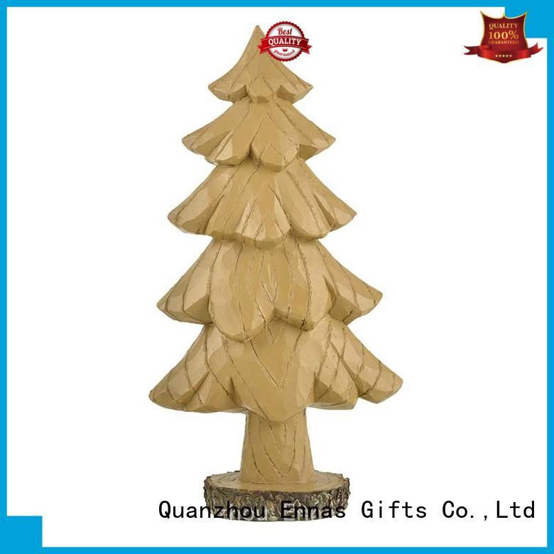 Ennas christmas figurine ornaments polyresin bulk production