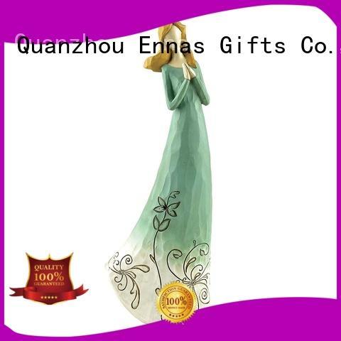 Ennas religious angel figurines wholesale popular for decoration
