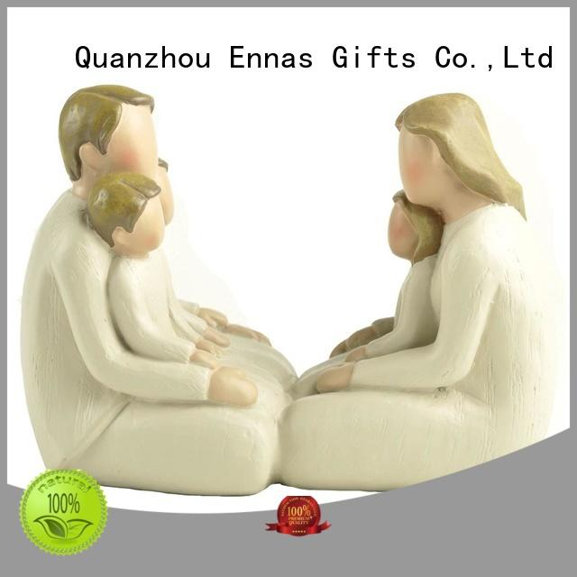 Ennas miniature wedding cake topper figurines high-quality birthday decor