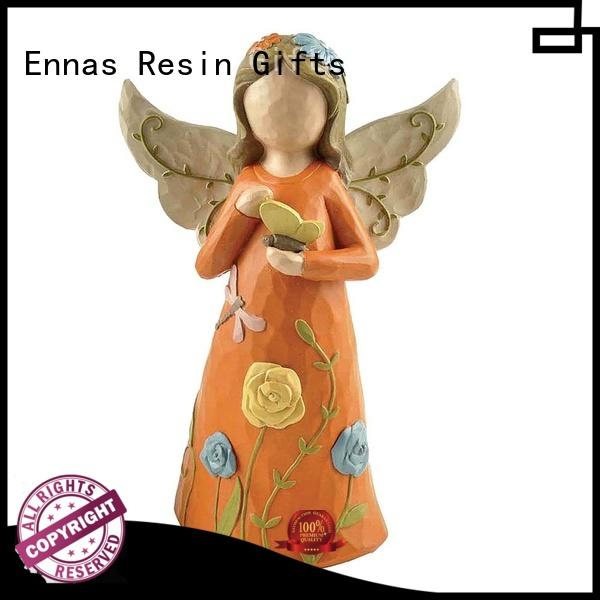 Ennas hand-crafted memorial angel figurines lovely at discount