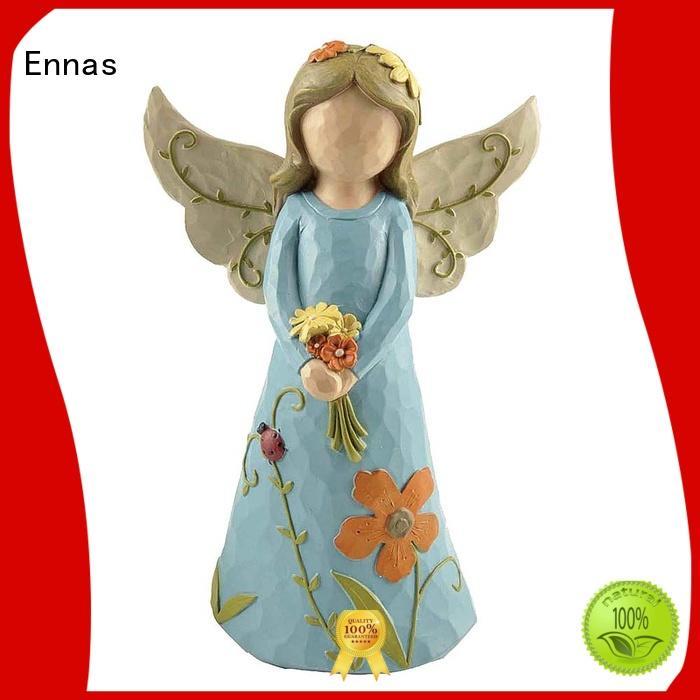 Ennas Christmas angel figurines vintage at discount