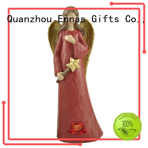 Ennas popular guardian angel statues figurines antique best crafts