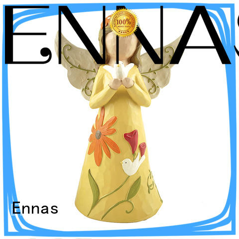 Ennas Christmas guardian angel figurines collectible antique fashion