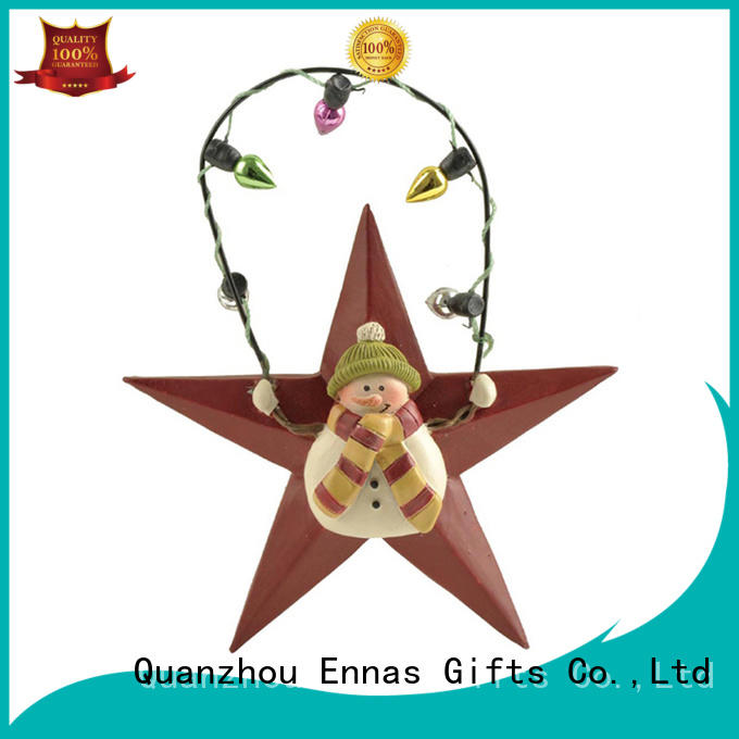Ennas collectable christmas ornaments polyresin