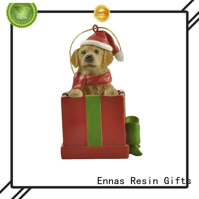 Dachshund Dog Christmas Figurine Oornaments