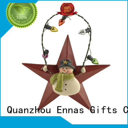 Star Shape Collectible Christmas Ornament