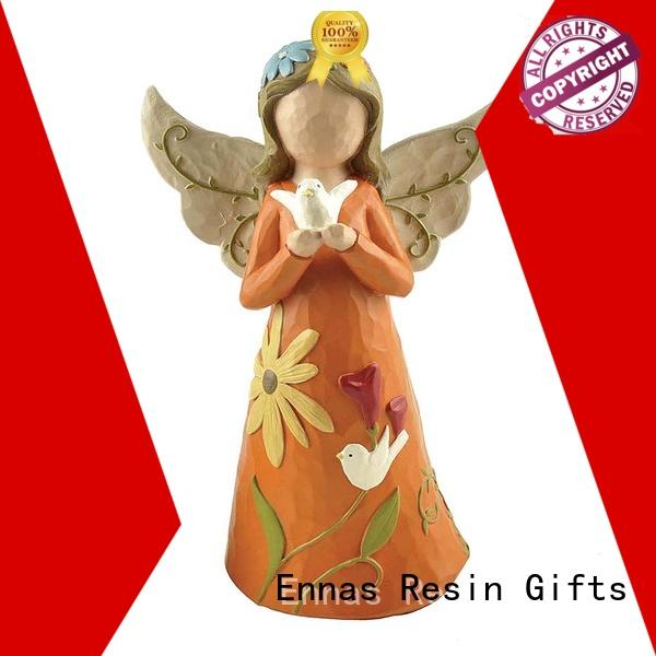 home decor angel figurine collection hand-crafted lovely for ornaments