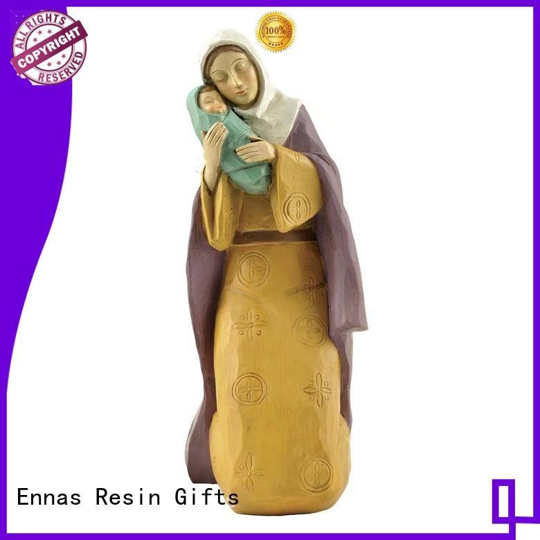 custom sculptures cheap religious figurines bulk production family decor Ennas